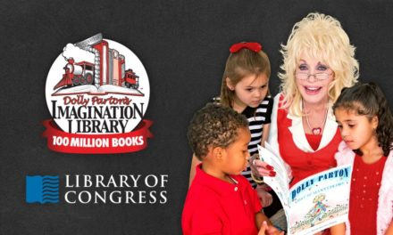 DOLLY PARTON'S IMAGINATION LIBRARY REACHED 100 MILLION BOOK MILESTONE